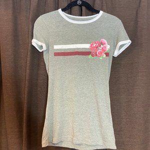 Aeropostale Flower Basic T-Shirt: Small